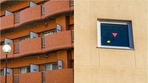 ไขข้อสงสัย สติ๊กเกอร์สามเหลี่ยมสีแดง ติดตามอาคารญี่ปุ่น มีไว้ทำไม?