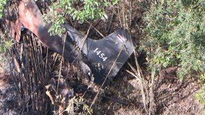 คืบเหตุเครื่องบินลาดตระเวนตกที่แม่ฮ่องสอน พบนายทหารดับ 3 บาดเจ็บ 1
