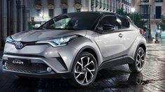 Toyota ปล่อยราคา C-HR ใน UK มาแล้ว