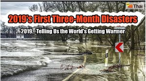 2019's First Three-Month Disasters