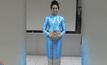"""""""อะแมนด้า คาร์"""" สวมชุดผ้าไหมไทยร่วมพิธีเปิดโอลิมปิก"""