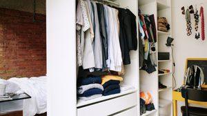 ไอเดีย เปลี่ยนลุค ตู้เสื้อผ้า ไร้บานให้สวยสดใสกว่าที่เคย