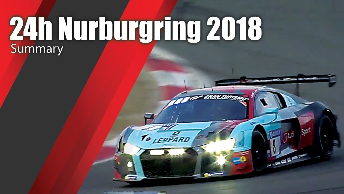 24h Nurburgring 2018 - Summary