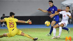ผลบอล: ทีมชาติไทย ปรับทัพเพียบยังชนะ 1-0 ส่ง ฟิลิปปินส์ ร่วงแบ่งกลุ่ม ซูซูกิ คัพ 2016