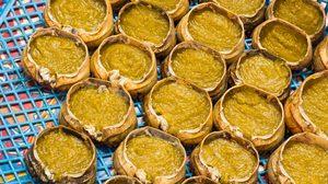 วิธีทำ อ่องปูนา มันส้มในกระดองปู จิ้มข้าวเหนียว จ๊าดลำ ลำแต๊แต๊