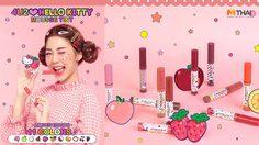 รีวิว 4U2 Hello Kitty Mousse Tint ทินท์เนื้อมูส กลิ่นหอม ทั้ง 11 เฉดสี