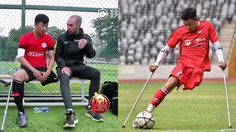 นักฟุตบอลขาเดียว จากประเทศจีน ชนะใจคนทั่วประเทศจนกลายเป็นคนดังข้ามคืน