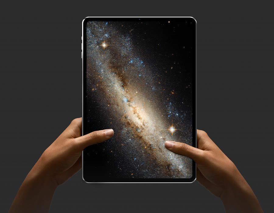 ภาพคอนเซปต์ iPad pro 2018