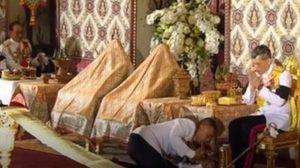 """""""วิษณุ""""เปิดเผยถึงการตั้งพระราชอาสน์ที่มีพระภูษาคลุมไว้ ในพิธีสรงน้ำพระบรมศพ"""