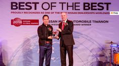 Mega Automobile ติวานนท์ คว้ารางวัล Nissan Best Of The Best ด้านการบริการลูกค้า