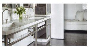 20 ไอเดีย แต่งห้องน้ำ ให้หรูขึ้นด้วยอ่างล้างมือแบบคู่