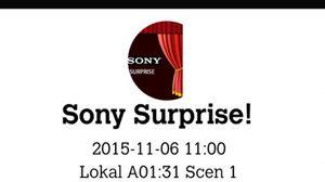 Sony เตรียมทำเซอร์ไพร์ส จะเปิดตัวผลิตภัณฑ์หรือ ?