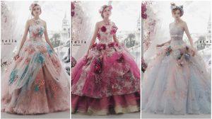 20 ไอเดียชุดแต่งงาน สวยหวาน น่ารักฟรุ้งฟริ้ง ยกมาทั้งสวนดอกไม้!!