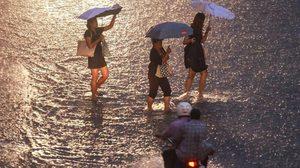 """อุตุฯ ประกาศเตือน """"พายุดีเปรสชันบริเวณทะเลจีนใต้ตอนบน"""" ฉบับที่ 7"""