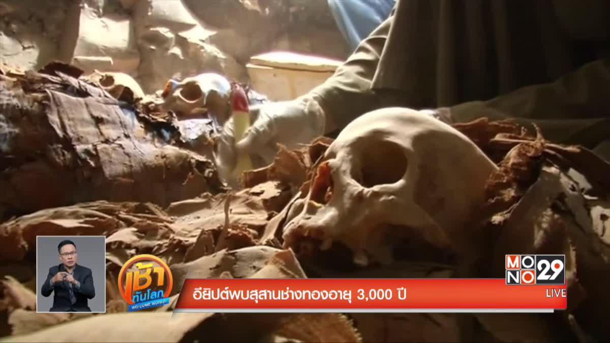 อียิปต์พบสุสานช่างทองอายุ 3,000 ปี