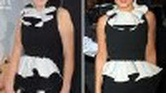 Zooey Deschanel vs Cheryl Cole กับชุดเดรสดำ คอปกขาว ใครสวยเริ่ดกว่ากัน