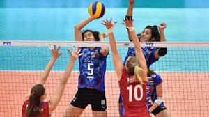 สาวไทย พ่าย รัสเซีย สูสี แม้โดน 3 เซตรวด ลุ้นชิงที่ 5 กับ จีน ลูกยาง เวิลด์ กรังปรีซ์
