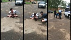 โหดจริงๆ ประเทศรัสเซีย สาวรัสเซียใช้นมกดคนร้าย จนจมดินหลังโดนปล้นชิงกระเป๋า