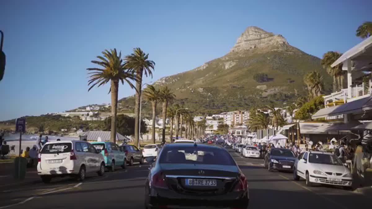 โครงการ Mercedes-Benz Intelligent World Drive ศึกษาสภาพการจราจรเพื่อพัฒนาระบบการ ขับขี่อัตโนมัติ ในรถยนต์ที่แอฟริกา