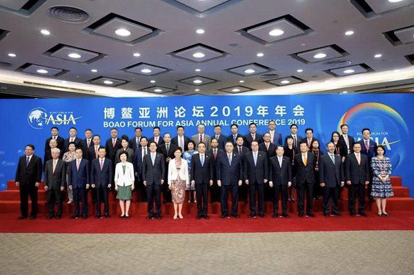 เจ้าสัวธนินท์โชว์วิสัยทัศน์เศรษฐกิจผสมผสาน: ผลิต-บริการ-ดิจิตอล ในการประชุม Boao Forum for Asia 2019