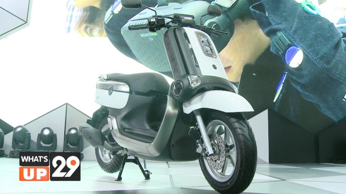 ยามาฮ่า เปิดตัวรถจักรยานยนต์ดีไซน์ใหม่สุดล้ำ Yamaha QBIX