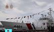 เรือเอนกประสงค์จากญี่ปุ่นเทียบท่าฟิลิปปินส์