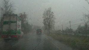 ทั่วไทยยังมีฝนฟ้าคะนอง ขณะที่ กทม. ร้อยละ 60 ของพื้นที่