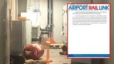 แอร์พอร์ตลิงก์ แจงอุบัติเหตุวาวล์ถังเคมีหลุด ที่สถานีสุวรรณภูมิ