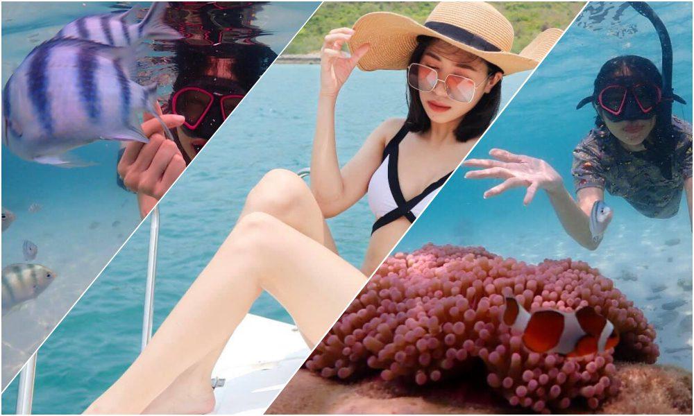 รีวิว เที่ยวแสมสาร สัตหีบ ดำน้ำ ดูประการังแบบ เช้าไป-เย็นกลับ