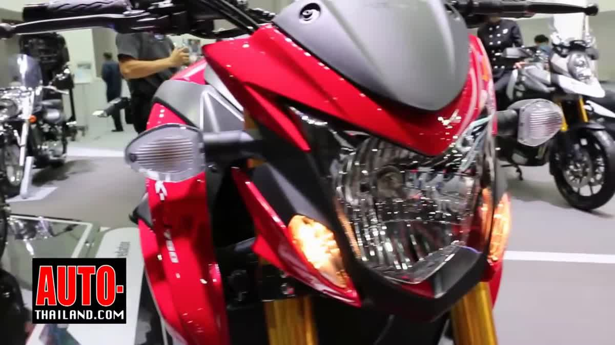 Suzuki motorcycle Motor Expo 2016 - Thai