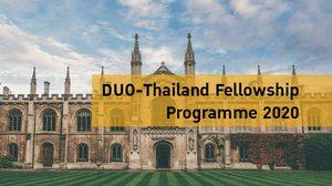 โครงการ DUO-Thailand Fellowship ปี 2563