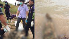 เร่งพิสูจน์หาอัตลักษณ์ ศพลอยน้ำ ถูกฆ่ายัดเสาปูนในช่องท้อง