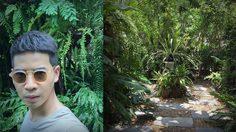 ส่องสวนทรอปิคอลคลาสสิกในบ้าน ฟรอยด์ ณัฏฐพงษ์ ชาติพงศ์