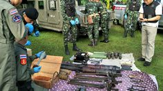 ค้นบ้านหนุ่มลำพูน ยึดระเบิด RPG อาวุธสงครามอื้อ