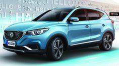 MG เปิดตัว MG eZS รุ่น ขับเคลื่อนด้วยพลังไฟฟ้าที่กวางโจว ประเทศจีน