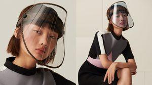"""สวยแพง! """"เฟซชิลด์"""" Louis Vuitton เปิดตัวราคาสามหมื่น เปลี่ยนสี-กันแดด-ใส่เป็นหมวกได้"""
