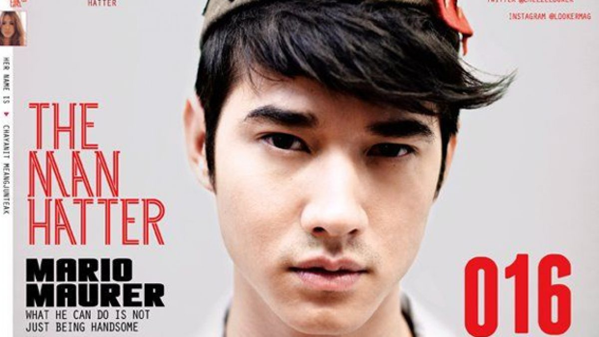 LOOKER 016 COVER with MARIO MAURER