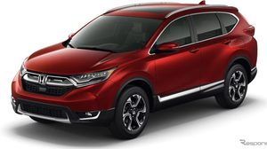New Honda CR-V ชนะเลิศคะแนนความปลอดภัย Top Pick จาก IIHS