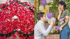 สายเปย์ตัวจริง!! หนุ่มจีนเซอร์ไพรซ์แฟนสาวด้วย iPhone X 25 เครื่อง เพื่อคุกเข่าขอแต่งงาน