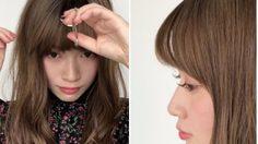 อุ๊ต๊ะ!! เซตผมหน้าม้าเป๊ะง่ายๆ ด้วยที่ดัดขนตา ก็สวยแบบสาวญี่ปุ่น