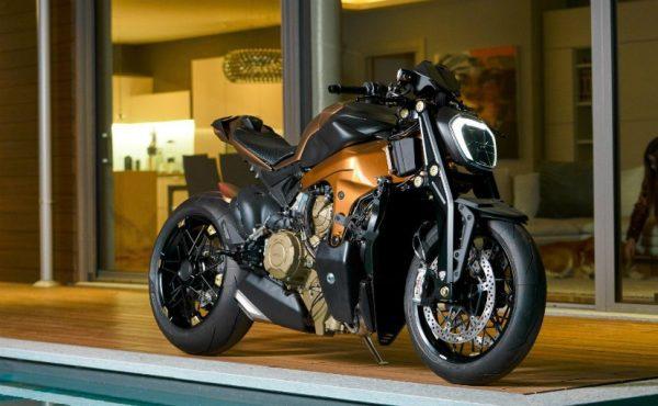 naked Ducati Panigale V4 custom