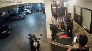 ตำรวจเชิญหนุ่มพม่า สอบฐานะพยาน คดีทอมทำร้ายแฟนสาว