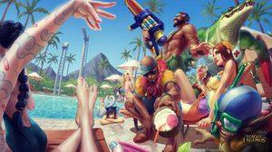 รวมภาพสวยๆ จากเกม MOBA สุดฮิต League of Legends