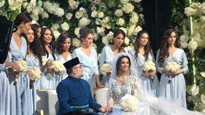 กษัตริย์มาเลเซีย อภิเษกสมรส อดีตนางงามรัสเซีย วัย 25 ปี หลังแยกทางพระชายาชาวไทย