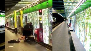 คลิปกระฉ่อนเน็ต มีเซ็กส์ในสถานีรถไฟใต้ดิน ทางการหาตัวมาลงโทษกันวุ่น