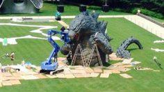 เมื่อ Godzilla บุกสวนสาธารณะใจกลาง TOKYO!!?