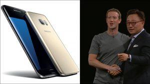 Samsung Galaxy S7 เปิดตัวแล้ว มาร์ค ซักเคอเบิก มาร่วมขึ้นเวทีงานด้วย