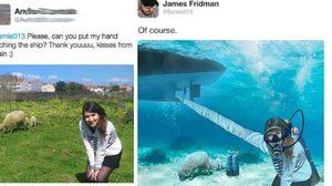 ชาวเน็ตพากันส่งภาพให้ James Fridman ตัดต่อให้!! งานนี้ฮากรจาย