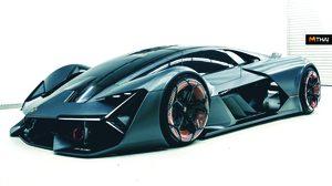 Lamborghini เตรียมจะเปิดตัวรถ Hybrid Supercar คันแรกในค่าย?