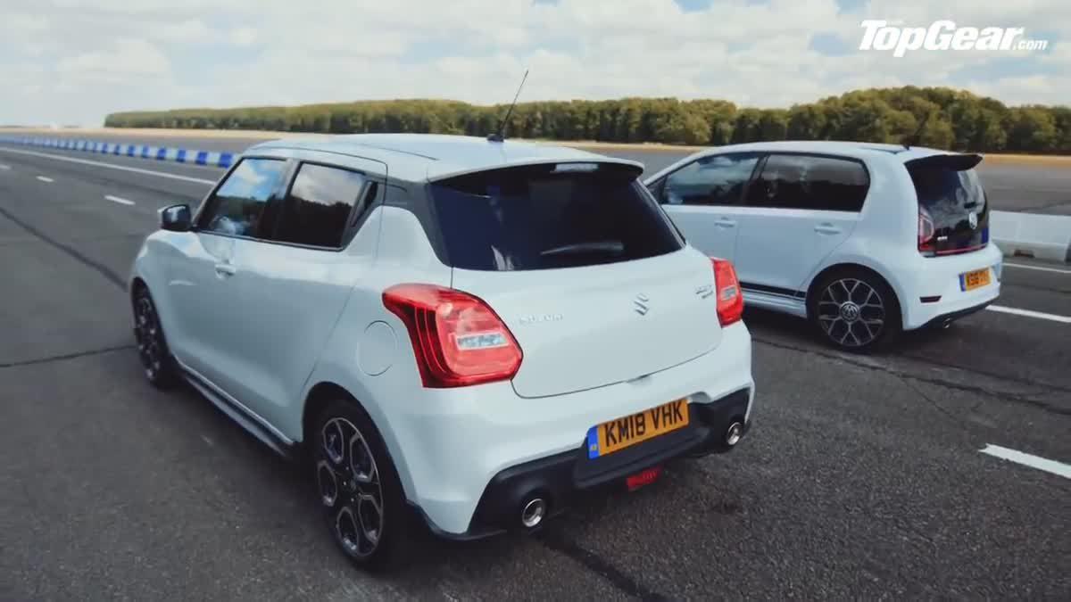 เมื่อ Volkswagen Up GTI เจอกับ Suzuki Swift Sport ในทางตรง ใครจะเข้าวิน?